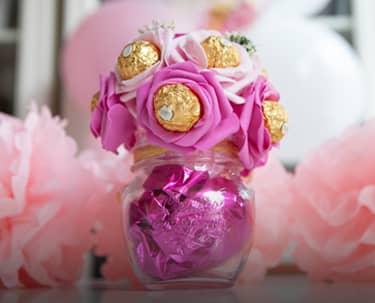 flor bombones, regalo de comunión en gijón